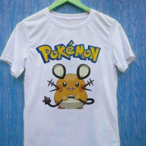 Dedenne Pokédex pokemon T Shirt Size S,M,L,XL,2XL