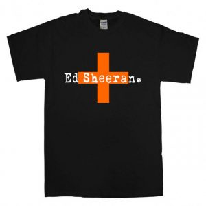 Ed Sheeran Croos T Shirt Size S,M,L,XL,2XL