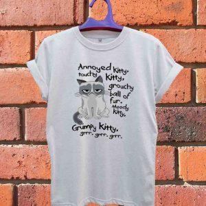 Grumpy Cat Parody T Shirt Size S,M,L,XL,2XL