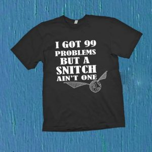 Harry Potter Inspired Quidditch Snitch T Shirt Size S,M,L,XL,2XL