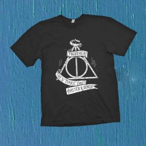 Harry Potter and the Deathly Hallows T Shirt Size S,M,L,XL,2XL