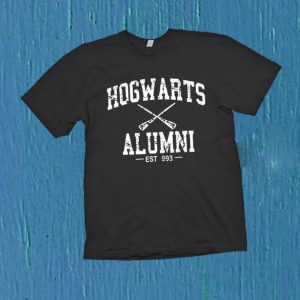 Hogwarts Alumni harry potter T Shirt Size S,M,L,XL,2XL