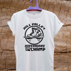 Hoverboard Champion hill valley T Shirt Size S,M,L,XL,2XL