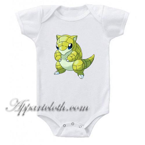 Pokemon Characters Funny Baby Onesie