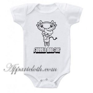 Snuggle Monster Funny Baby Onesie