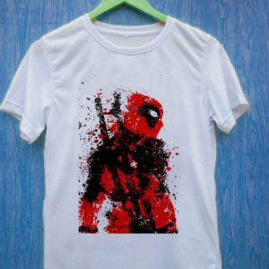 Dead pool art T Shirt Size S,M,L,XL,2XL