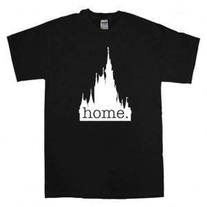 Disney castle home logo T Shirt Size S,M,L,XL,2XL