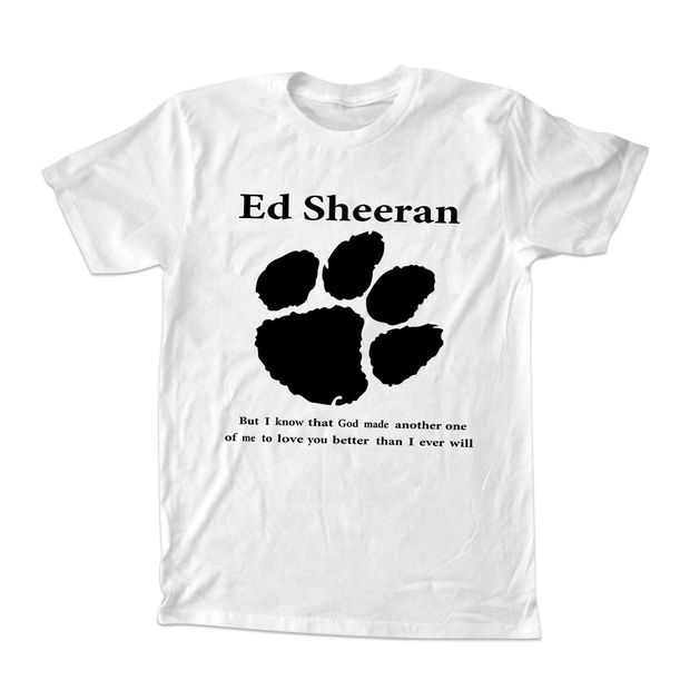 Ed sheeran lyrics quotes logo T Shirt Size S,M,L,XL,2XL
