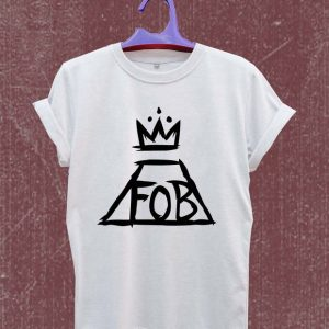 Fall out boy logo T Shirt Size S,M,L,XL,2XL