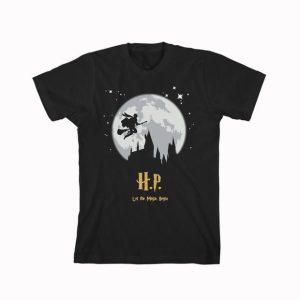 Harry potter night moon T Shirt Size S,M,L,XL,2XL