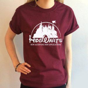 Hogwarts harry potter T Shirt Size S,M,L,XL,2XL