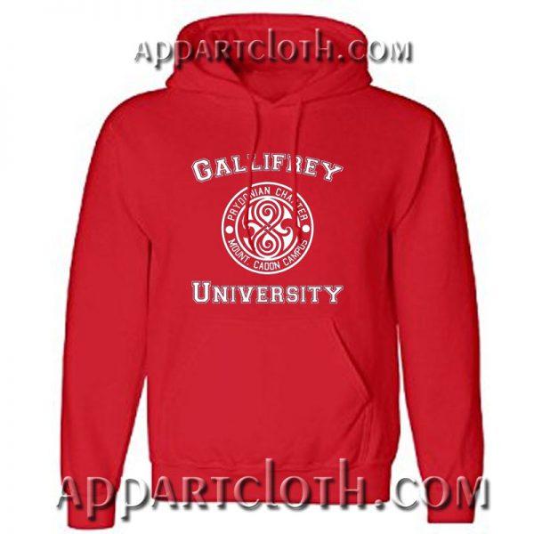 Doctor Who Gallifrey University Hoodie