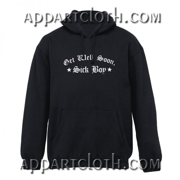 Get Well Soon Sick Boy Social Distortion Hoodie