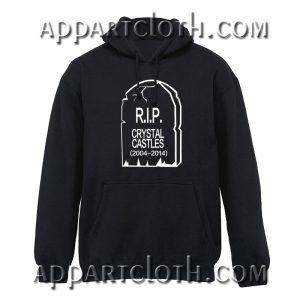 RIP Crystal Castles Hoodie