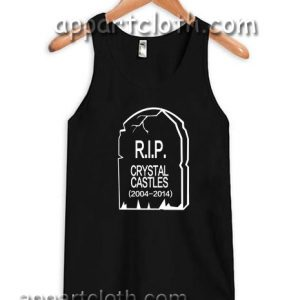 RIP Crystal Castles Adult tank top men and women