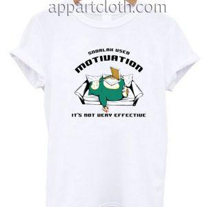 Snorlax Used Motivation T Shirt Size S,M,L,XL,2XL