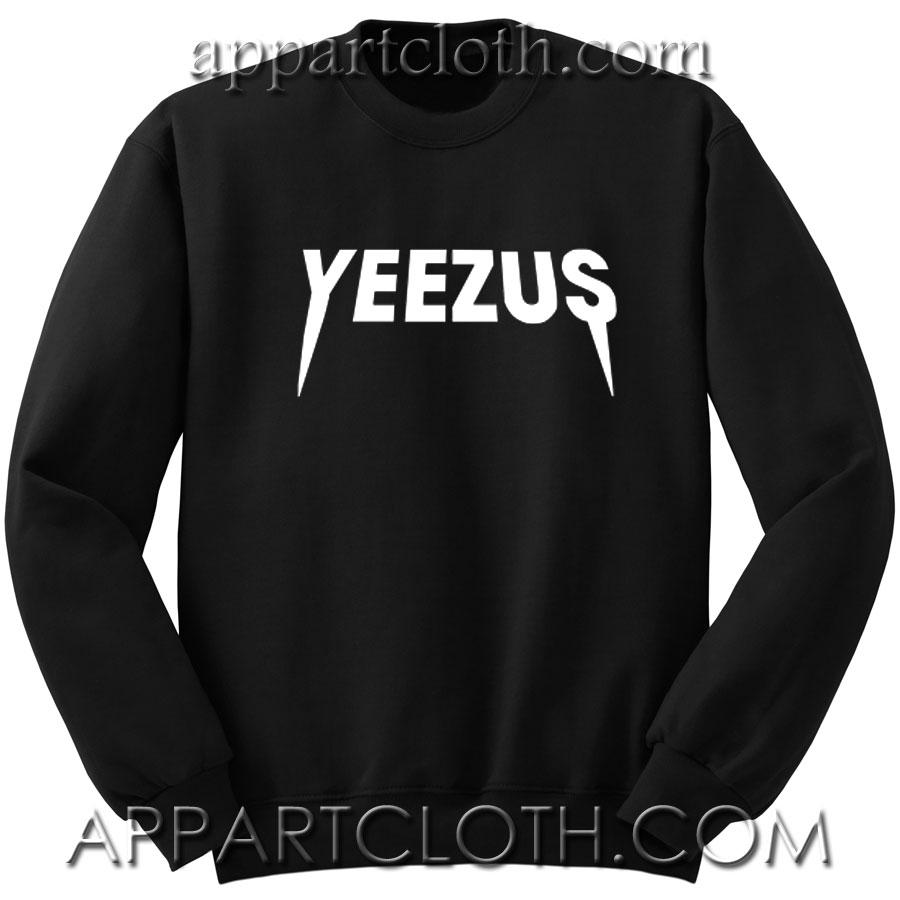 Yeezus logo kanye west Unisex Sweatshirts