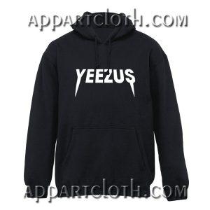 Yeezus logo kanye west Hoodie