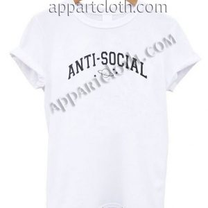 Anti Social Planets T Shirt – Adult Unisex Size S-2XL