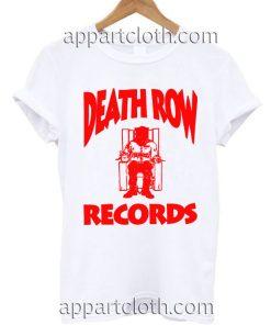 Death Row T Shirt Size S,M,L,XL,2XL