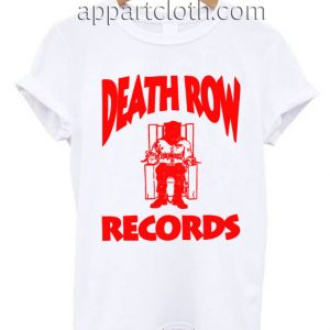 Death Row T Shirt Size S,M,L,XL,2XL