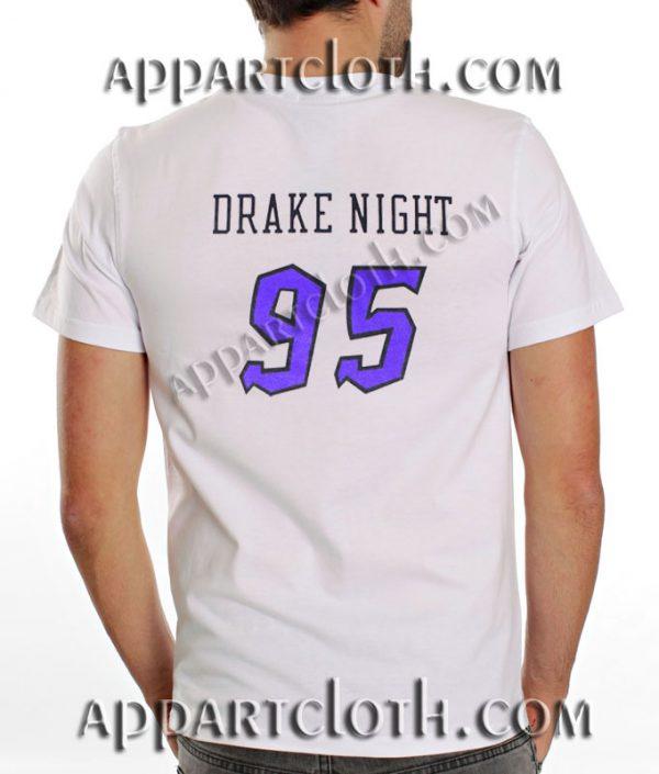 Drake Night Returns T Shirt – Adult Unisex Size S-2XL