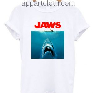 Jaws T Shirt Size S,M,L,XL,2XL