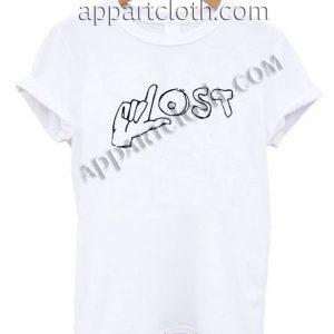Lost Hand T Shirt Size S,M,L,XL,2XL