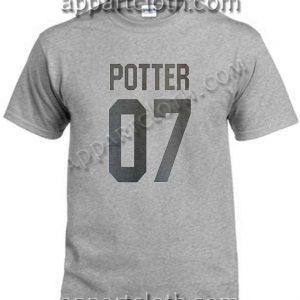 Potter 07 T Shirt – Adult Unisex Size S-2XL