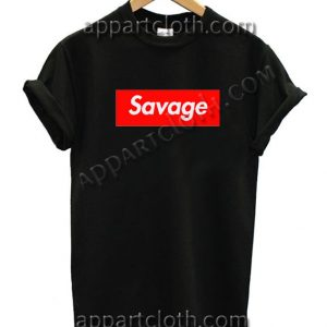 Savage T Shirt Size S,M,L,XL,2XL