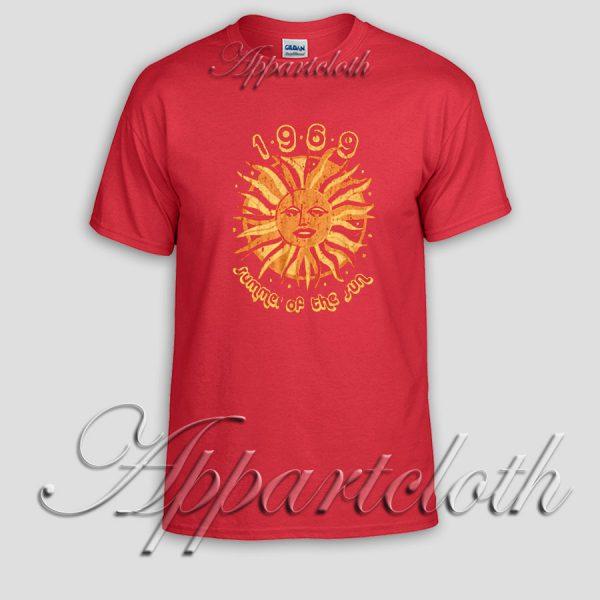 Summer Of The Sun T Shirt Size S,M,L,XL,2XL