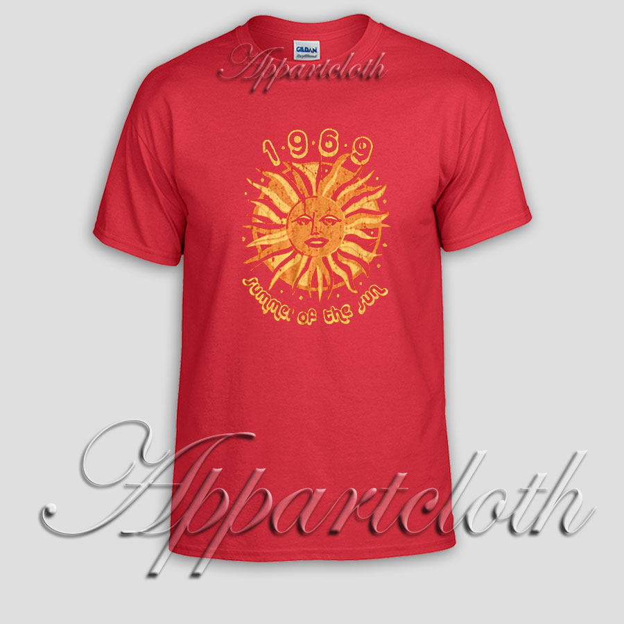 Summer Of The Sun T Shirt Size S,M,L,XL,2XL