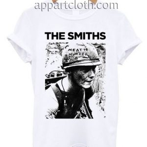 The Smiths Meat Is Murder T Shirt Size S,M,L,XL,2XL