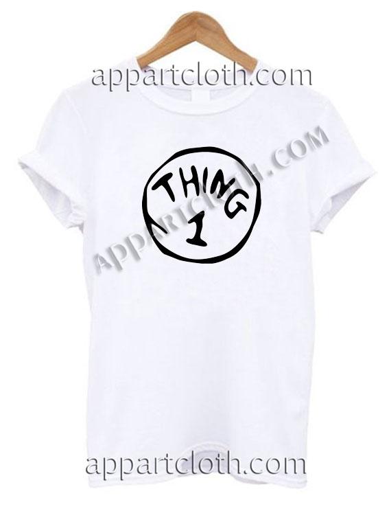 Think 1 T Shirt Size S,M,L,XL,2XL