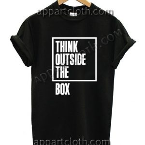 Think OutSide The Box T Shirt Size S,M,L,XL,2XL