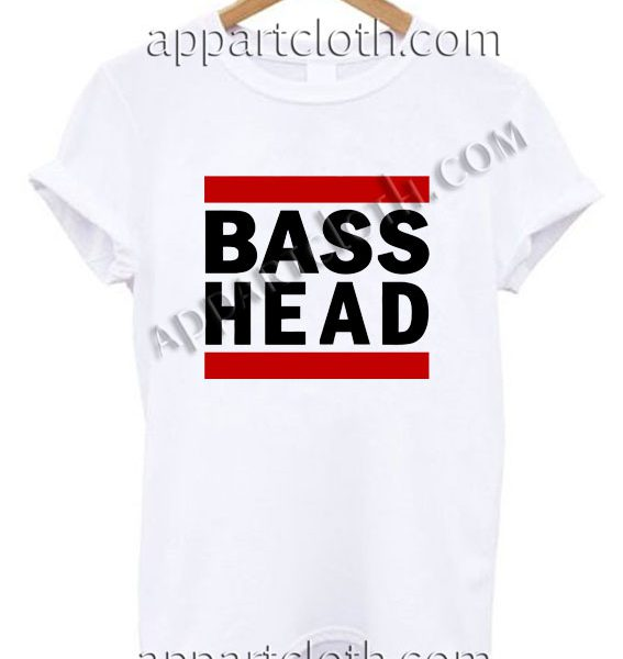 Bass Head T Shirt – Adult Unisex Size S-2XL