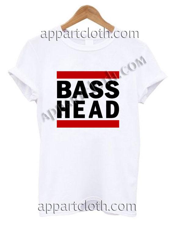 Bass Head T Shirt – Adult Unisex Size S-2XL
