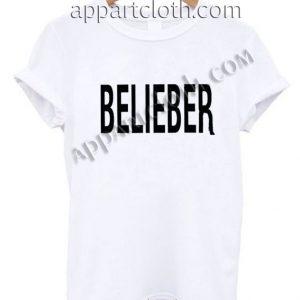 Belieber T Shirt – Adult Unisex Size S-2XL