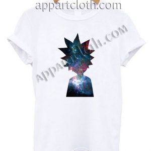 Rick and morty galaxy nebula T Shirt – Adult Unisex Size S-2XL
