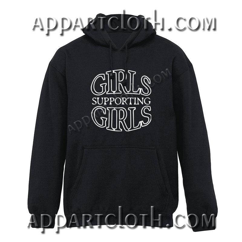 Girls Supporting Girls Hoodie