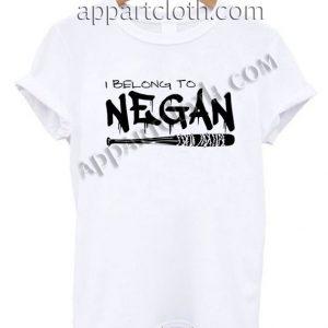 I Belong to Negan T Shirt – Adult Unisex Size S-2XL