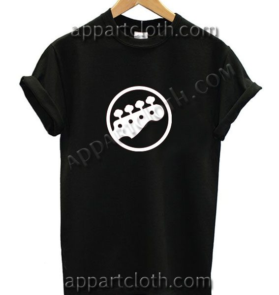 Scott Pilgrim Bass Head T Shirt – Adult Unisex Size S-2XL