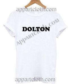 DOLTON T Shirt Size S,M,L,XL,2XL