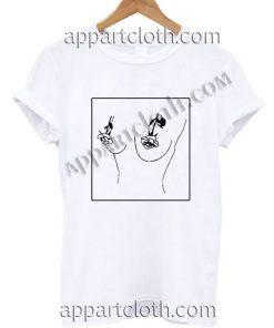 Rose Boobs Emoji T Shirt Size S,M,L,XL,2XL
