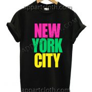 New York City T Shirt Size S,M,L,XL,2XL