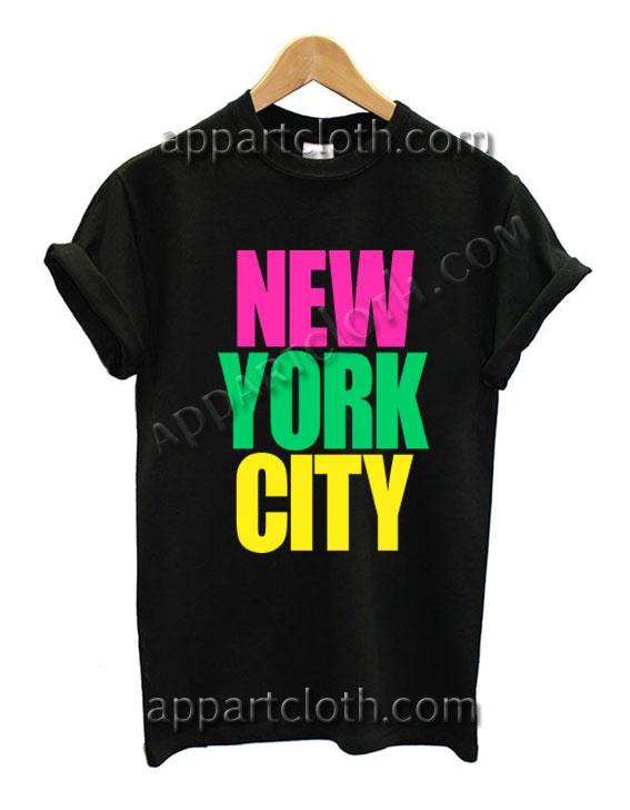 New York City T Shirt Size S,M,L,XL,2XL