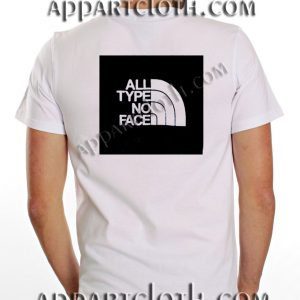 All Type No Face T Shirt Size S,M,L,XL,2XL