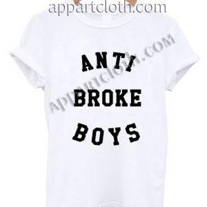 Anti Broke Boys T Shirt Size S,M,L,XL,2XL