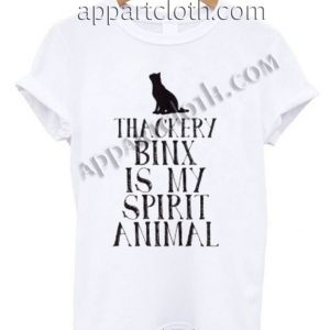 Buy Tshirt thackery binx is my spirit animal T shirt Design Custom Shirt Size S-2XL