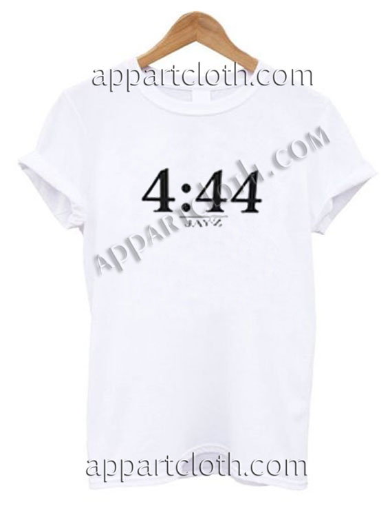 4 44 Jayz Time Funny Shirts For Guys Size S,M,L,XL,2XL